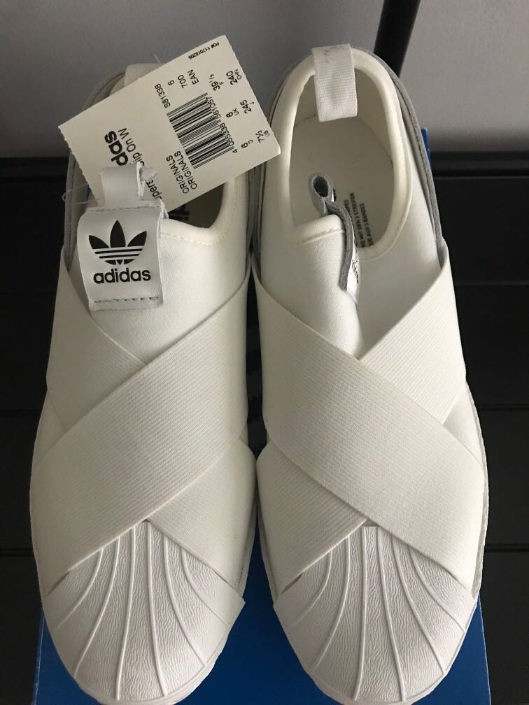 Brand New Adidas Superstar Slip On (Women)