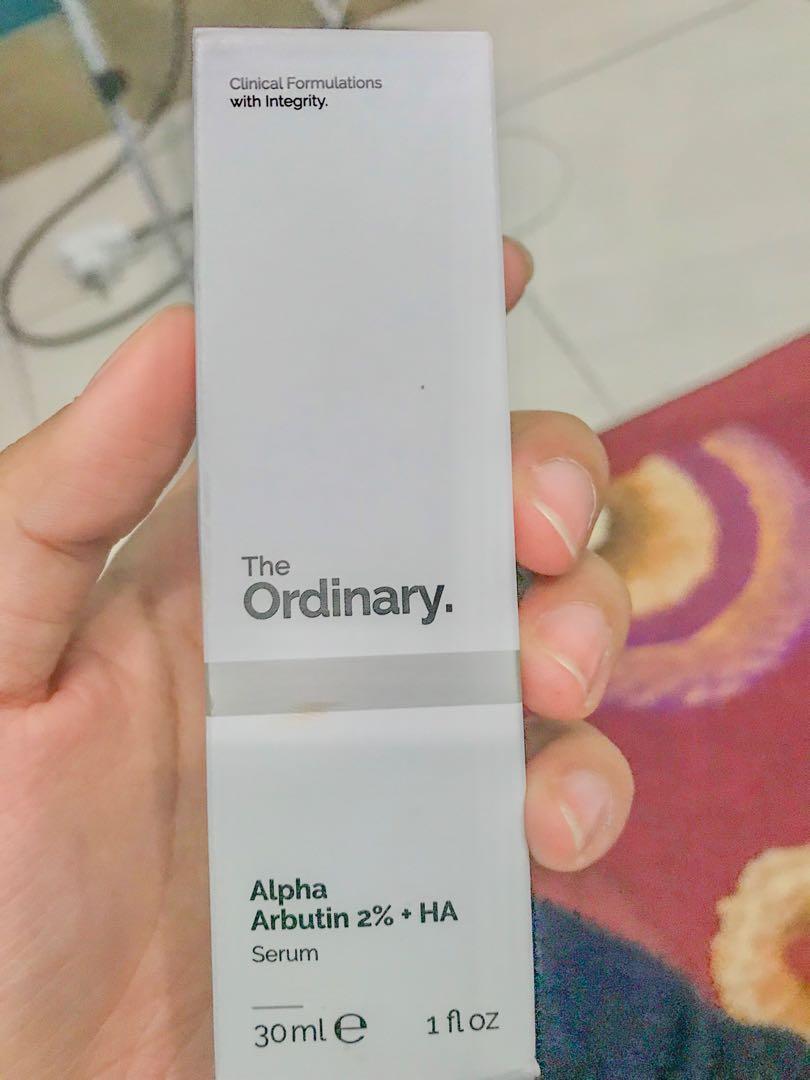 Alpha Arbutin 2% + HA 30ml