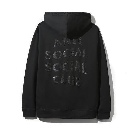 Anti Social Social Club Blinded Black/Black Hoodie