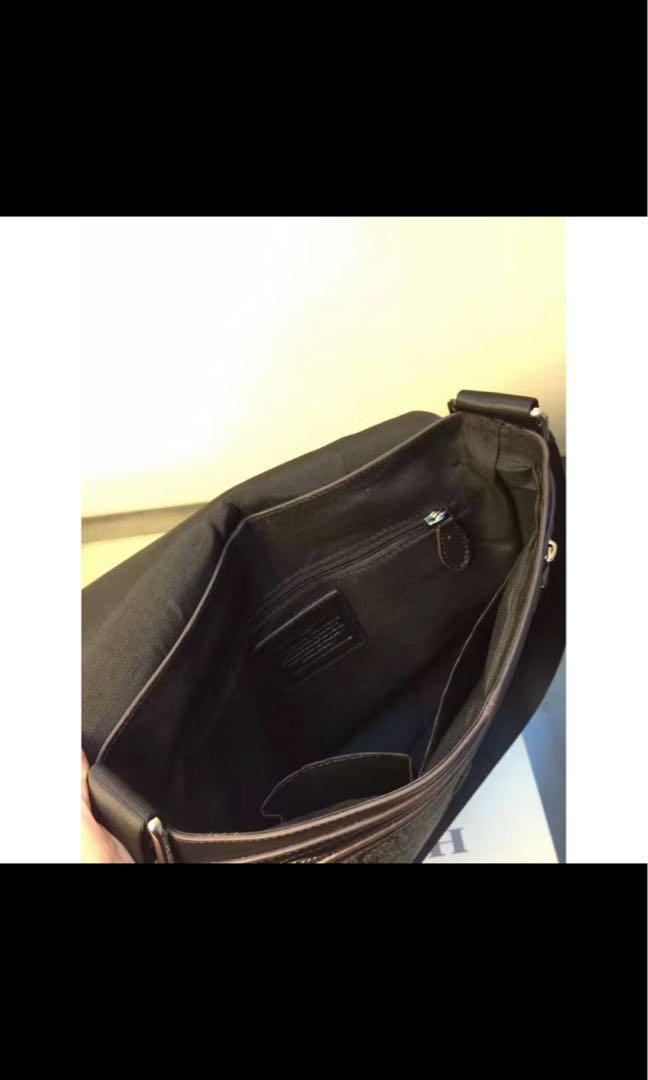 AUTHENTIC COACH MEN SLING BAG (PO ONLY)