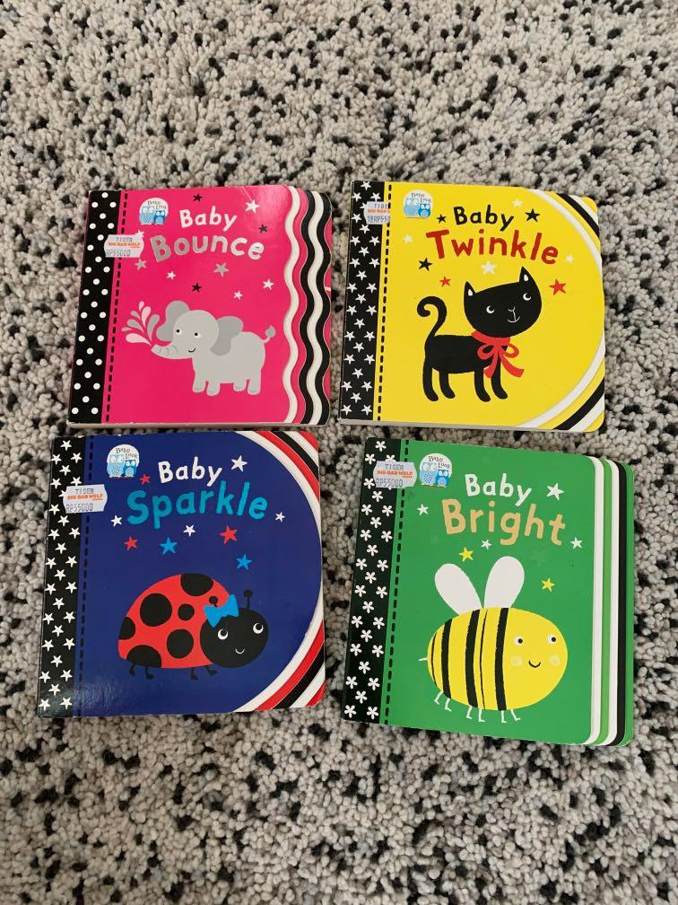 Baby Book- baby bounce twinkle sparkle bright