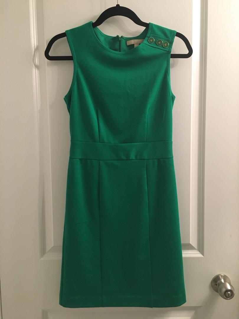 Banana Republic Fitted Dress - Green