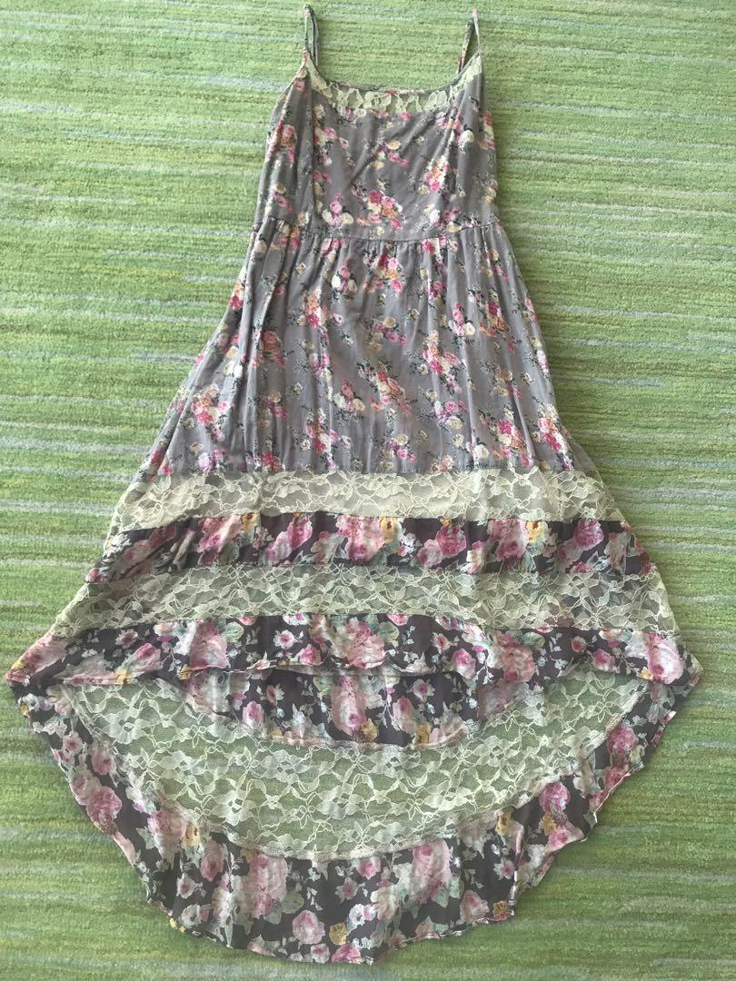 Brand New Branded Floral Lace Dress