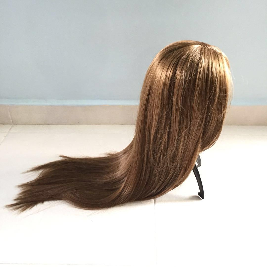 BRAND NEW IN PACKAGE Golden Brown Long Straight Wig