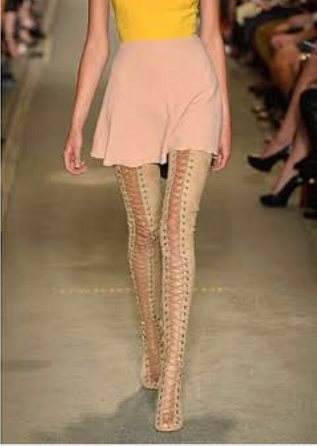 BRAND NEW UNWORN Tony Bianco ariette thigh high boots 🎀🎀🎀