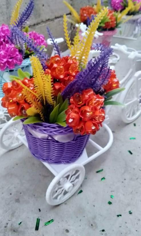 Bunga Akrilik Desain Kerajinan Tangan Barang Aksesoris Kerajinan Di Carousell