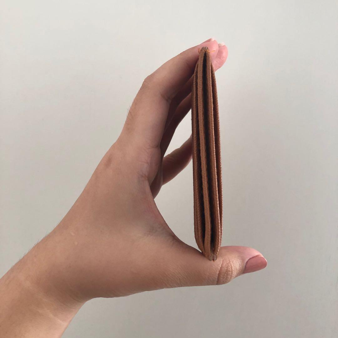 Card Holder Coklat Brown Wallet