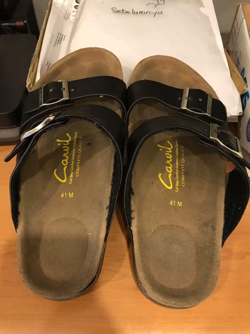 Carvil Sandal Pria Kenzo Hitam