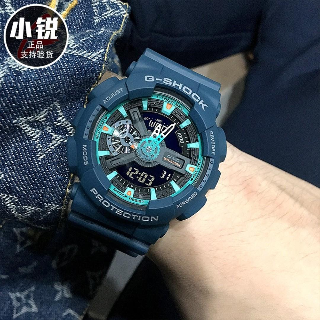 110cc Casio Watch 110 Shock 2a Analog Men's G Ga Standard Digital NvPn0y8wOm