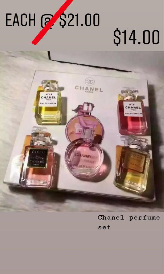 4f278c3948 Chanel 5 in 1 Perfume Gift Set, Health & Beauty, Perfumes ...