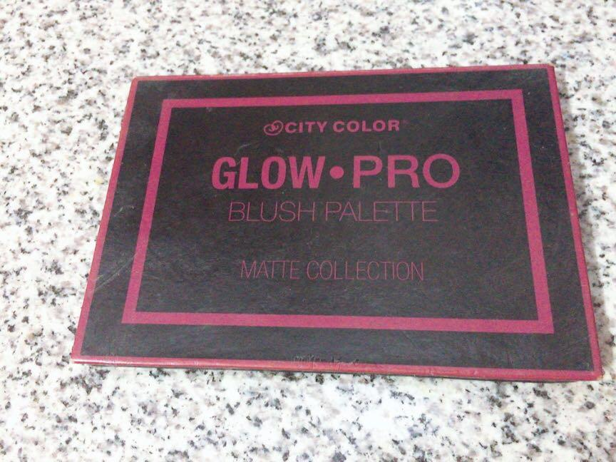 City Color Glow Pro Blush Pallete Matte Collection #SociollaCarousell