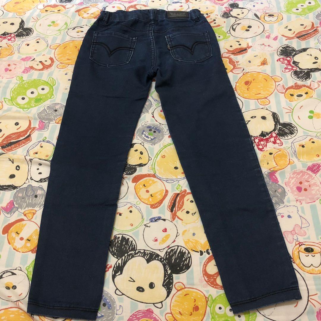 Denim Legging Jeans Anak Babies Kids Girls Apparel 4 To 7 Years On Carousell