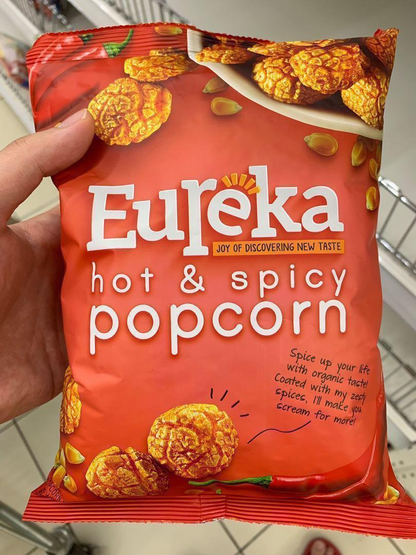 (PREORDER) Eureka Popcorn 80g (Caramel / Cheese / Hot & Spicy)