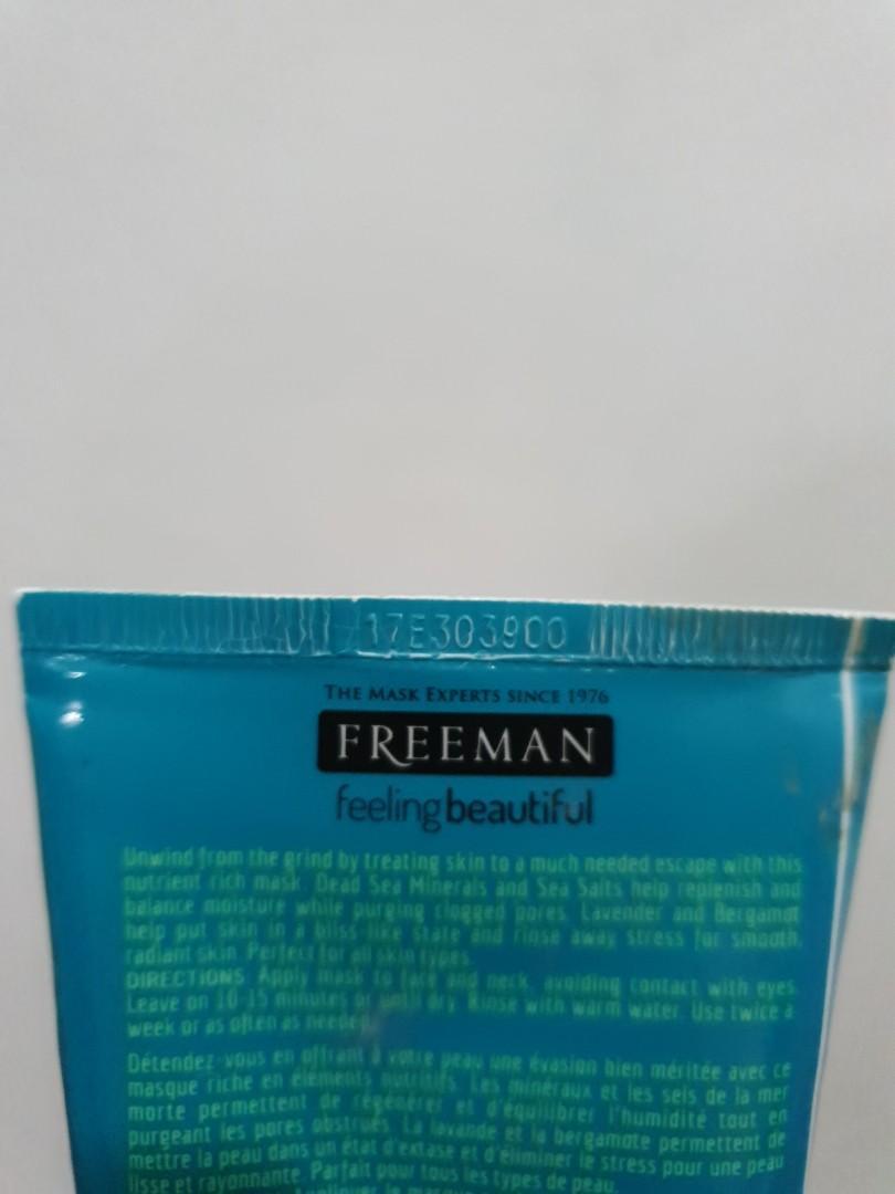 Freeman - Dead Sea Minerals - Clay Mask