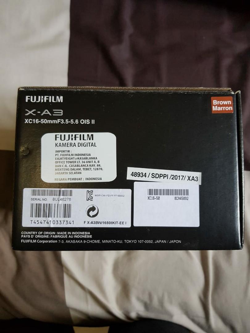 Fujifilm XA3 Mirrorles + Bonus