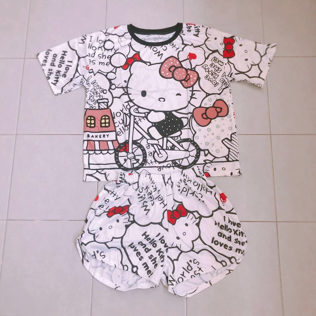 e51fc70ee Hello Kitty Dri Fit Set, Women's Fashion, Clothes, Others on Carousell