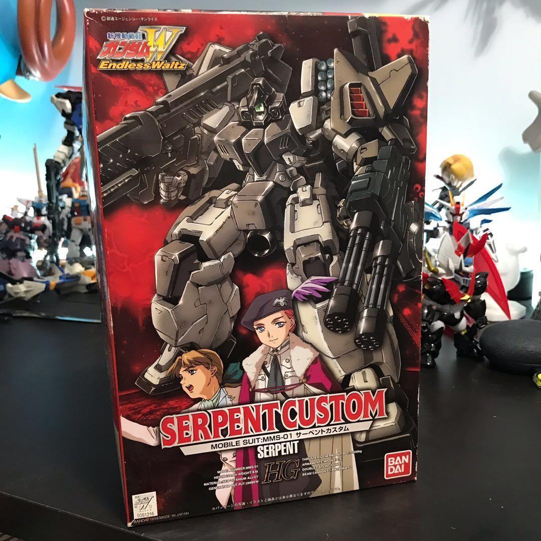 特價中!HG 1/100 SERPENT CUSTOM Gundam-W OVA 機動戰士W 高達模型
