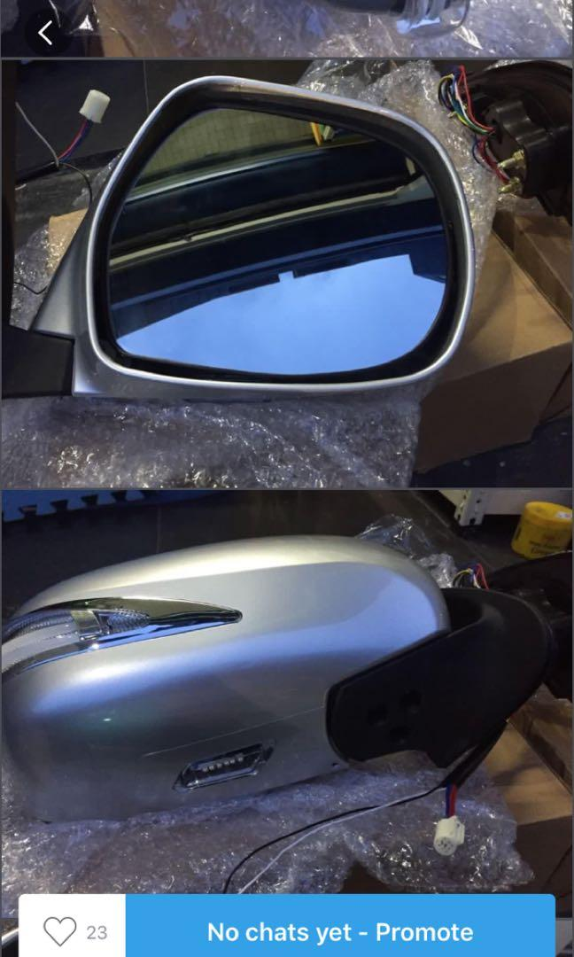 hiace front side mirror