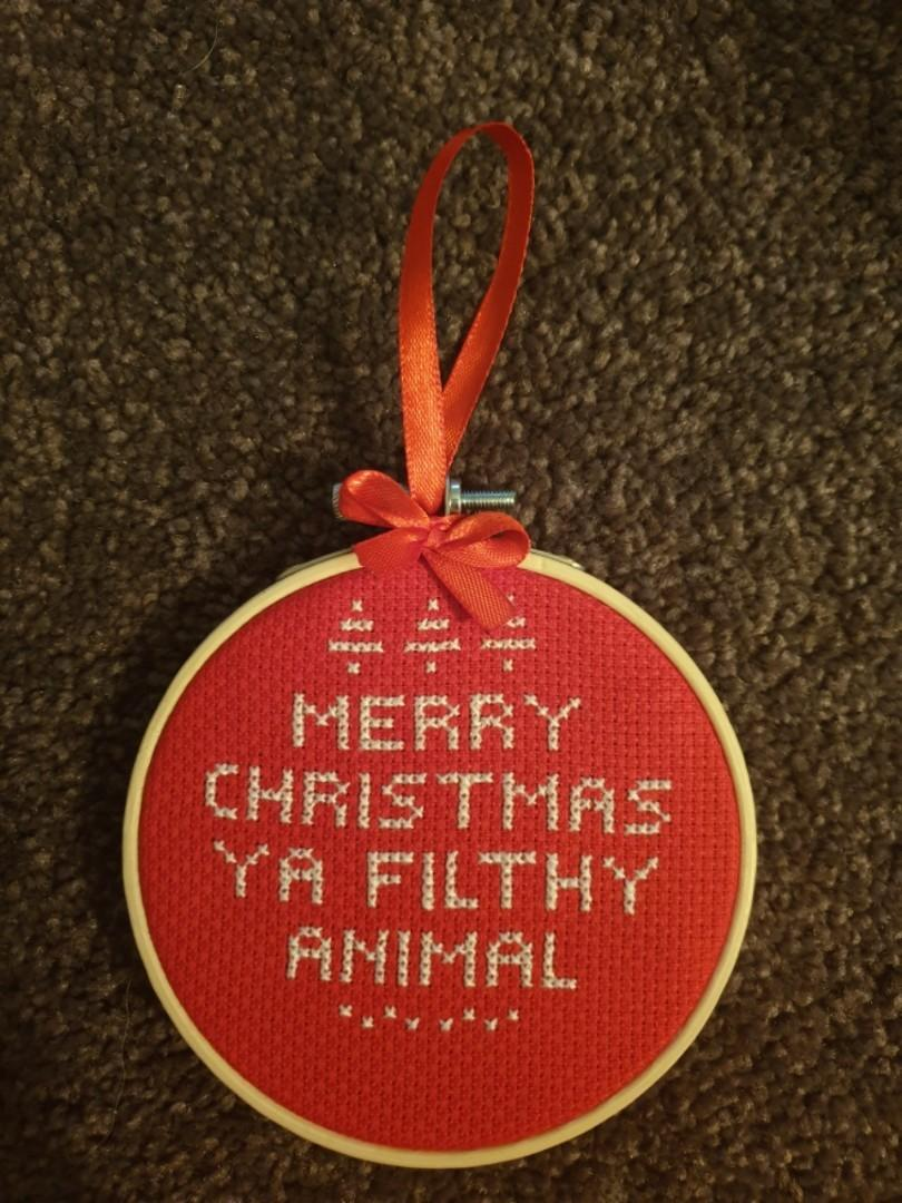 Home alone inspired Christmas ornament