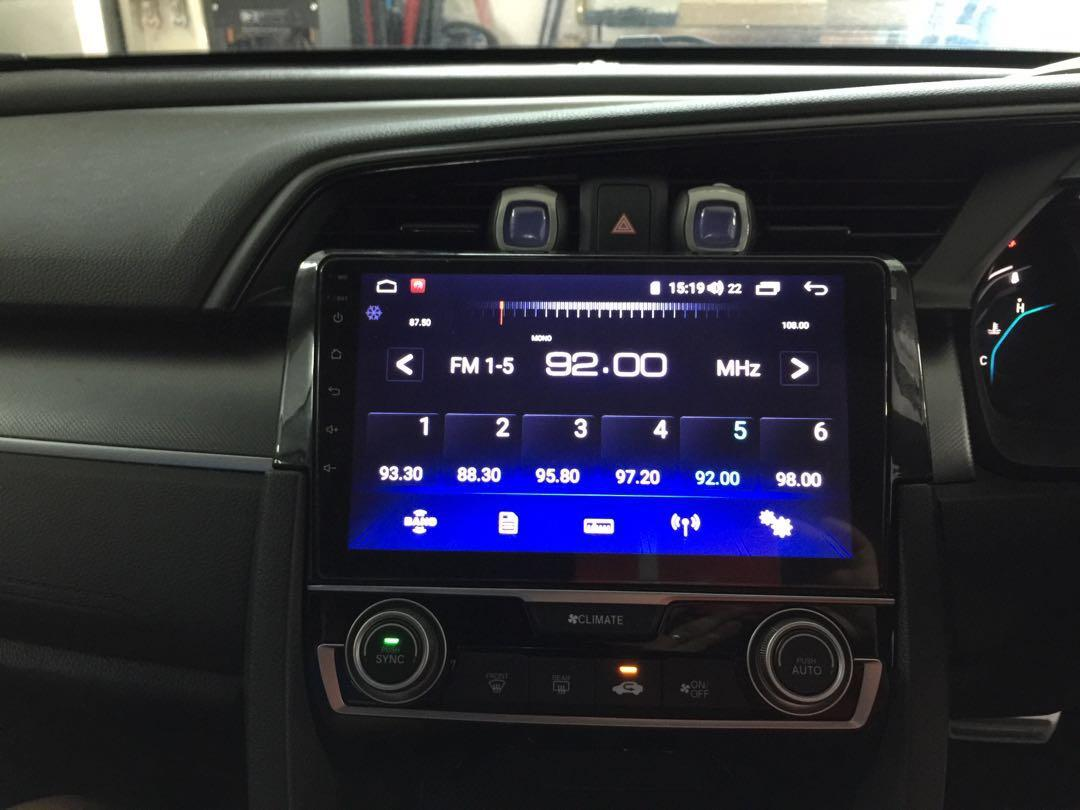"Honda Civic👉2016 Installed Android 9""Plug N Play"