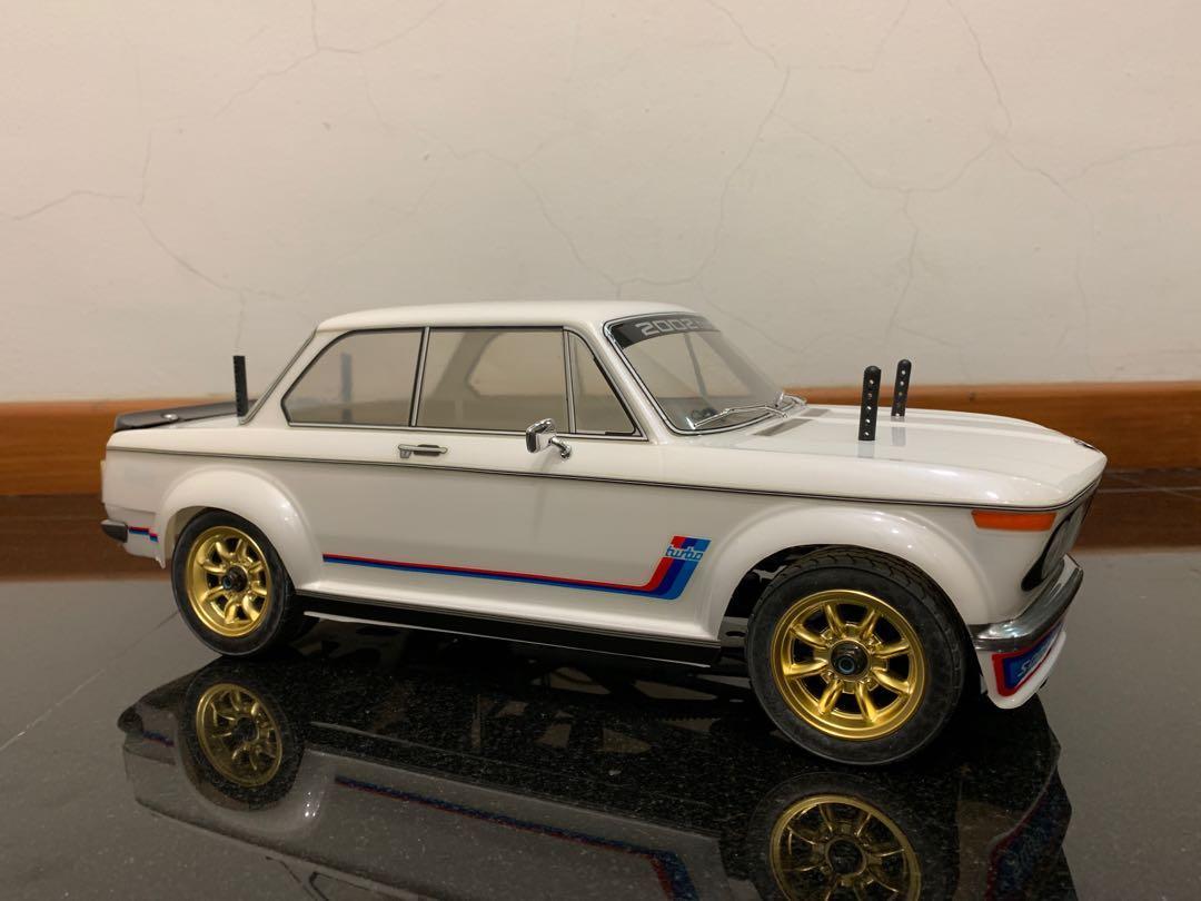 HPI RS4 mini with BMW 2002i Turbo body