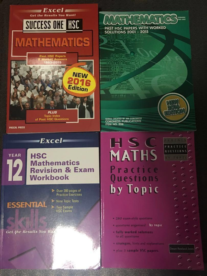 HSC Textbooks: Business, Biology, Chemistry, Maths + Economics and English resources