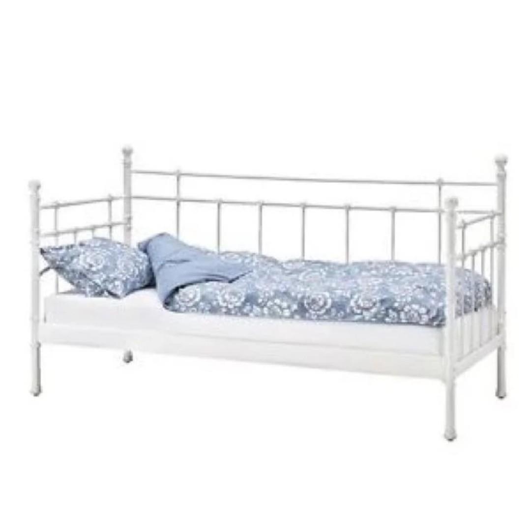 - Ikea Day Bed Tromsnes (White), Furniture, Beds & Mattresses On