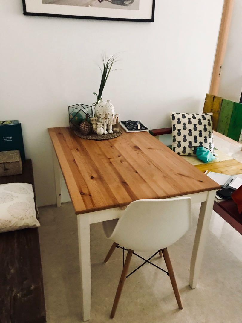 IKEA LERHAMEN Dining Table