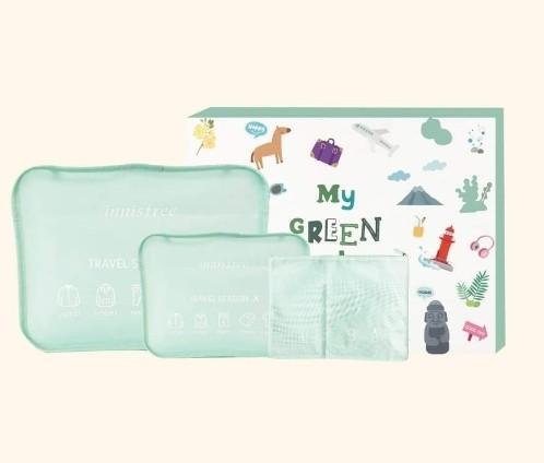 Innisfree Limited Edition Green Travel Set