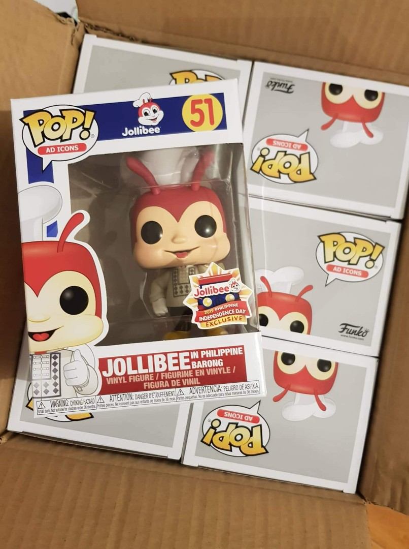 Jollibee in barong with protector (limited edition)