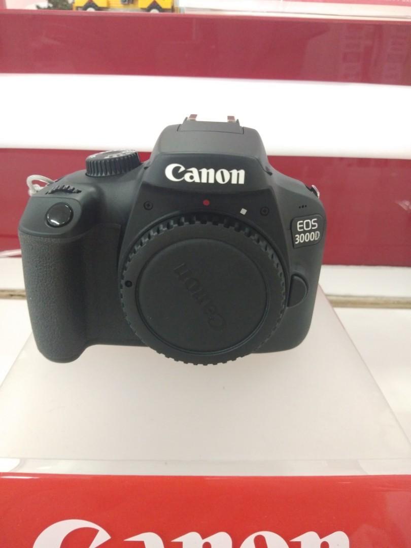 Kredit camera CANON 3000D tanpa CC promo bunga bisa 0%