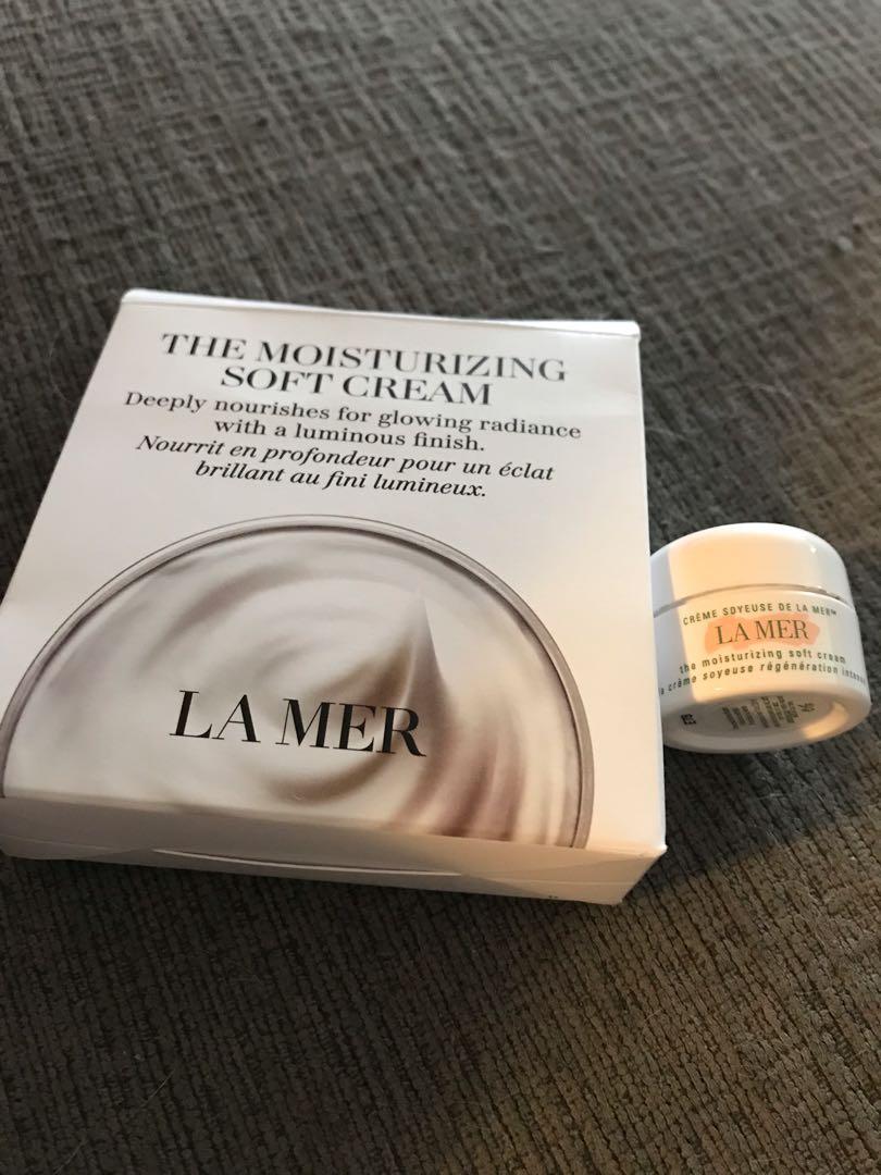 La Mer Moisturizing Soft Cream Sample