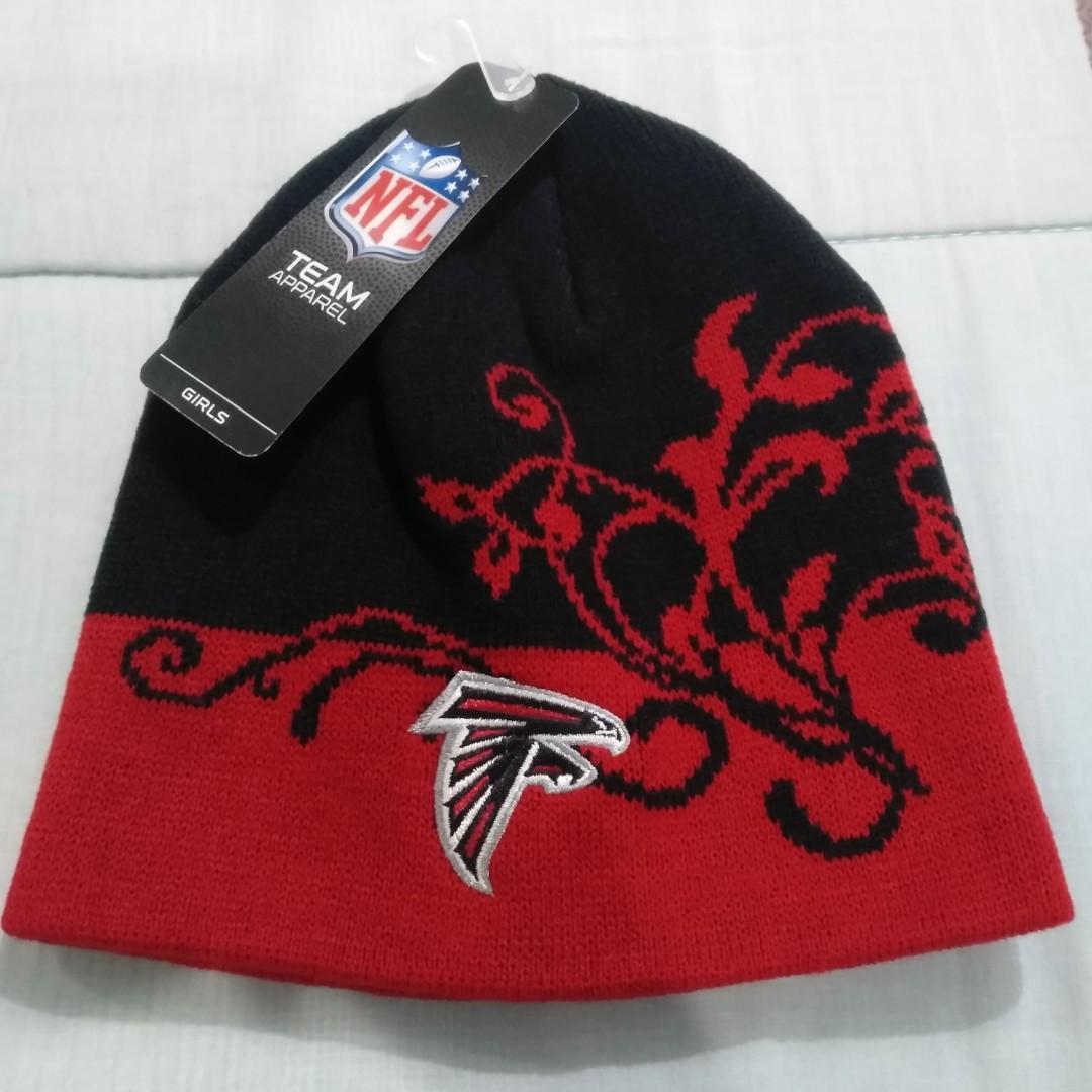 4f0744a8f Legit Brand New With Tags NFL Team Apparel Atlanta Falcons Girls Cap ...