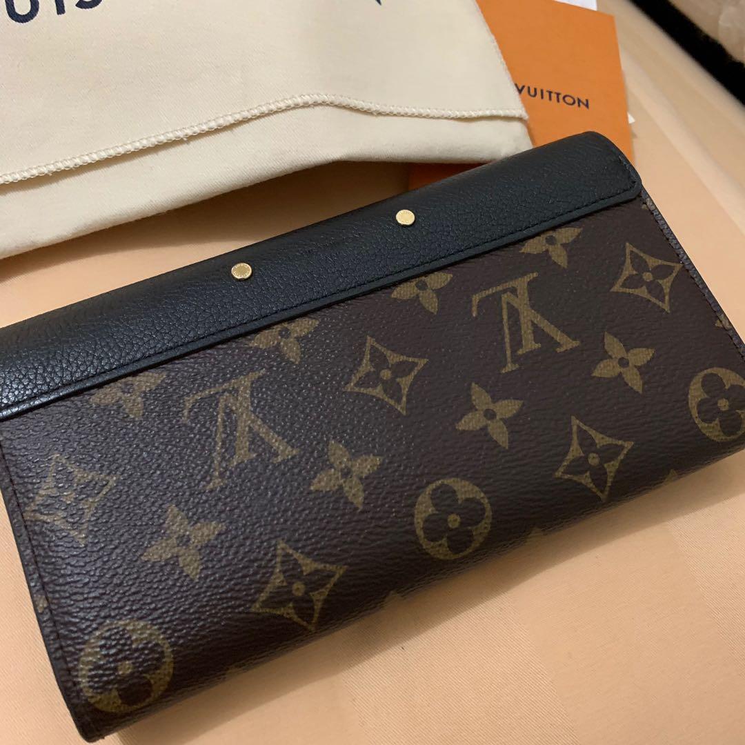 Louis Vuitton Wallet Pallas Leather