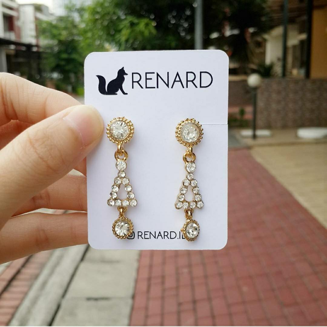 Luwe  Earring/ anting cantik / anting / anting manis / anting imut / anting lucu / anting pesta / anting fashion/ anting import / anting keren / antinng murah / anting cakep / anting murmer