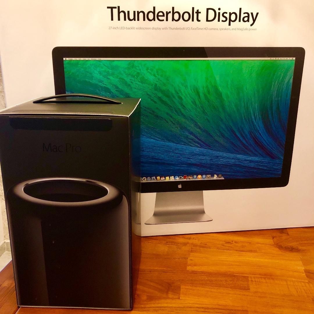 27 Inch Apple Thunderbolt Display, Electronics, Computer