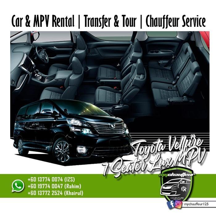Malaysia Singapore MPV Private Taxi Transport