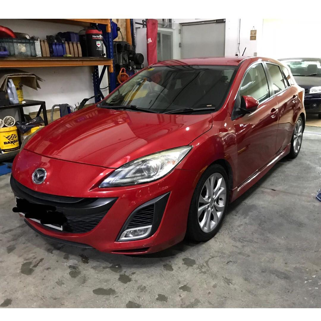 Mazda 3 Hatchback for rent