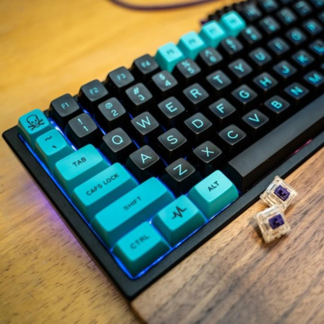 MiTo SA Pulse Custom Keycap Set (Keycaps only), Electronics