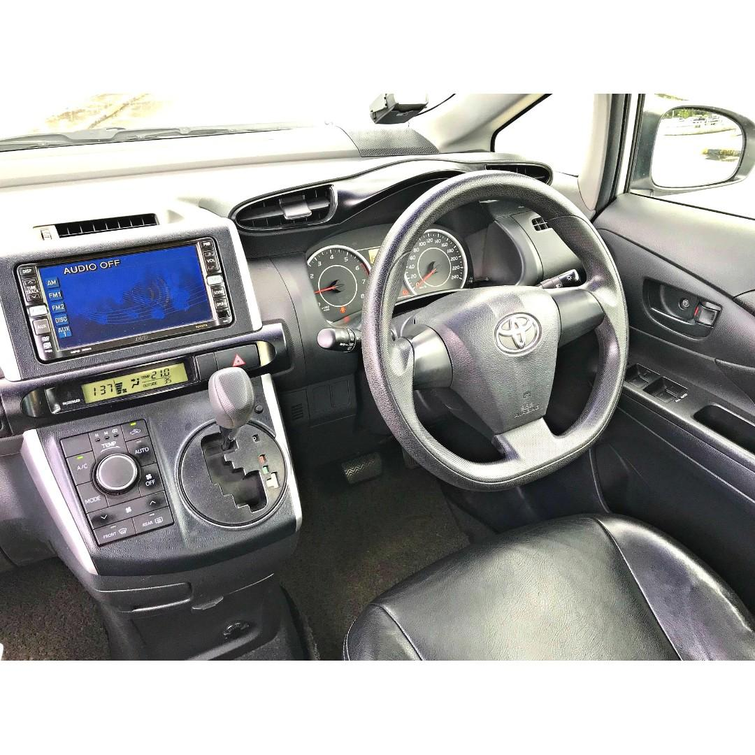 CHEAPEST $60 PER DAY MPV FOR PHV/LEASING [TOYOTA WISH 2.0A ELEGANCE]
