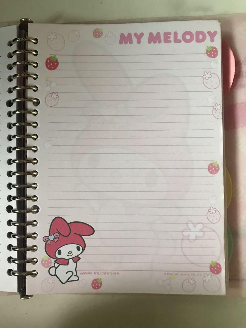 my melody binder+isi binder
