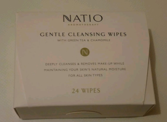 Natio Cleansing Make Up Remover Facial Wipes 24 Pack. New