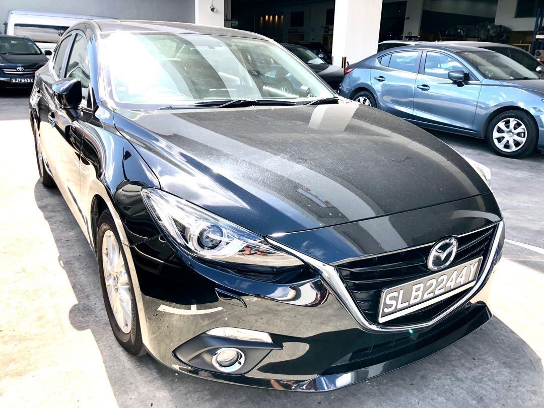 (New 2018) Mazda 3 1.6a - $370/week : $52/day