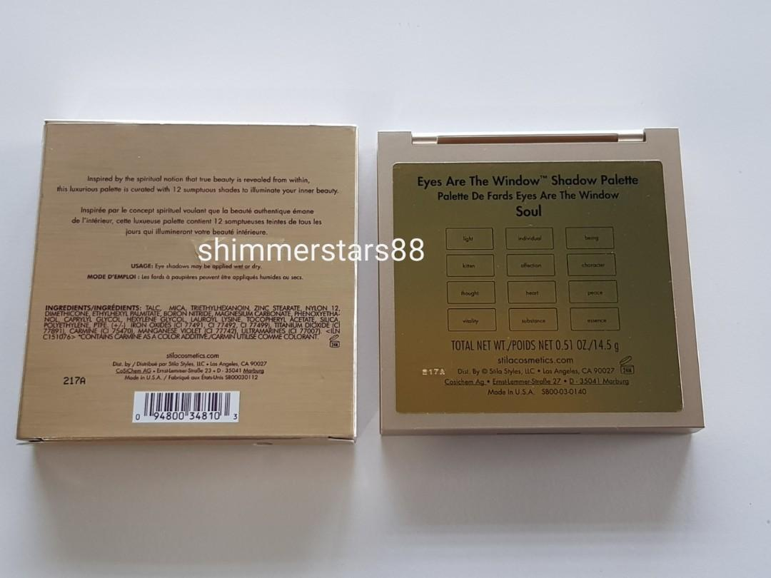 New!STILA Eyes Are The Window Eyeshadow Palette, RRP$75