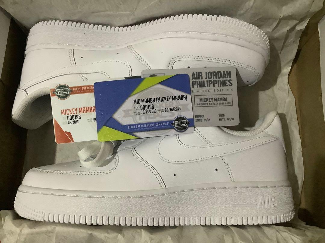 huge discount 778b7 0b965 Nike Air Force 1 Triple White Womens Size 7 US on Carousell