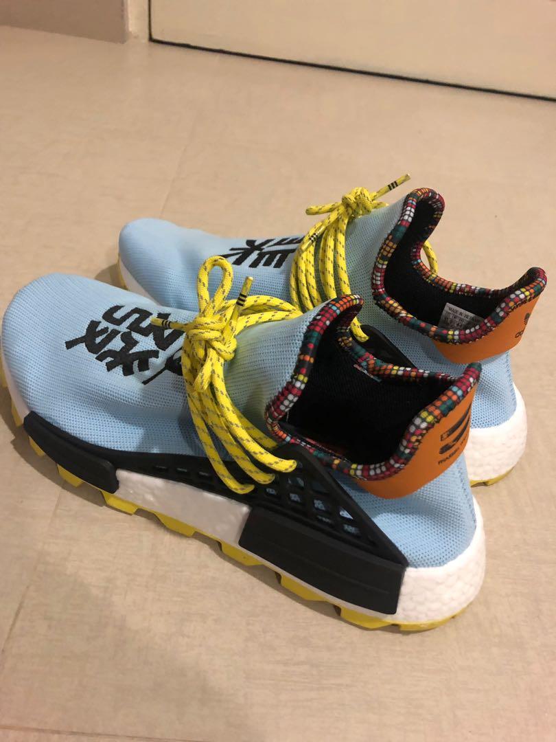 best website dca46 8176a Nmd human race, Men's Fashion, Footwear, Sneakers on Carousell