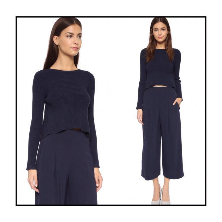 *NWT* Club Monaco Zowie Sweater in Navy Women Size S