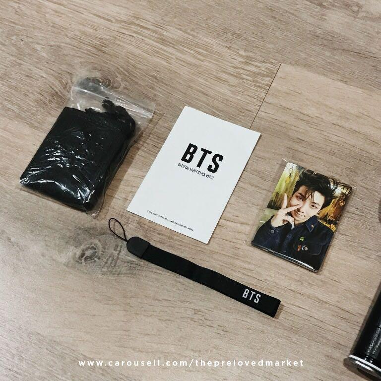 Official BTS ARMY Bomb Ver 3 Lightstick