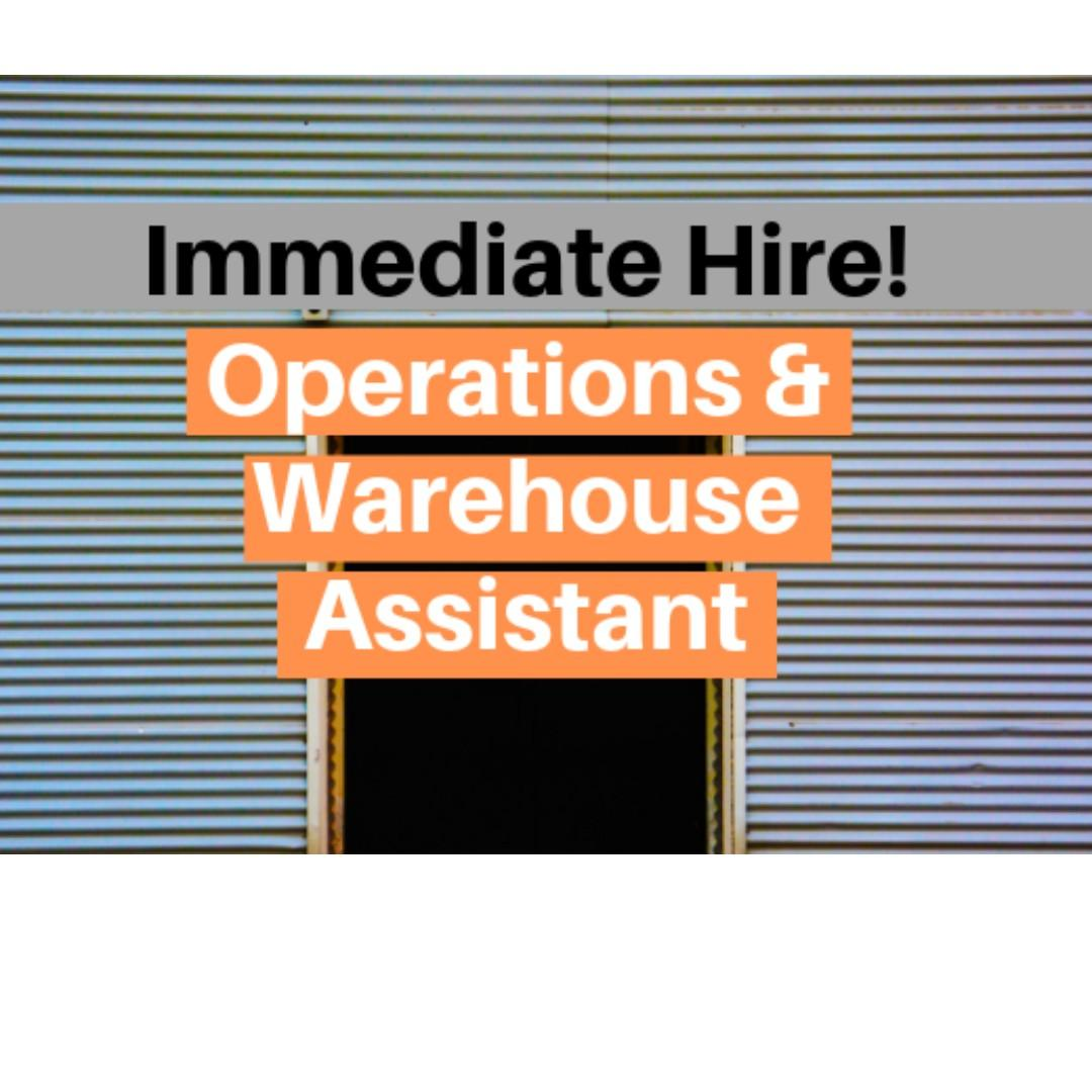 Operations & Warehouse Assistant