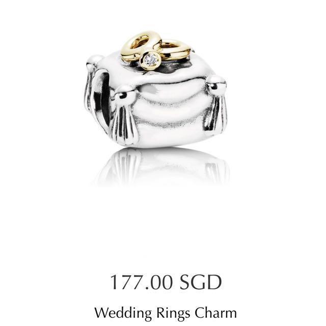 Pandora Wedding Ring Charm, Women's Fashion, Jewelry & Organisers ...